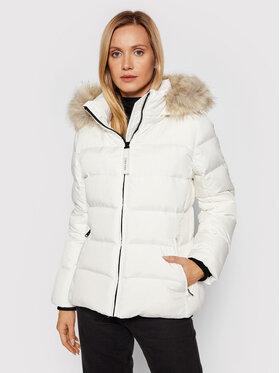 Calvin Klein Calvin Klein Kurtka puchowa Essential K20K203126 Biały Regular Fit