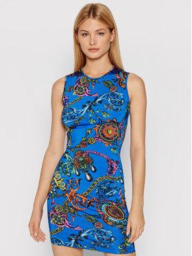 Versace Jeans Couture Versace Jeans Couture Každodenní šaty 71HAO901 Modrá Slim Fit