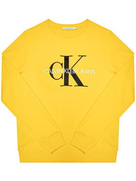 Calvin Klein Jeans Calvin Klein Jeans Pulóver Monogram Logo IU0IU00069 Sárga Regular Fit