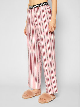 DKNY DKNY Pyžamové kalhoty YI2722412 Růžová