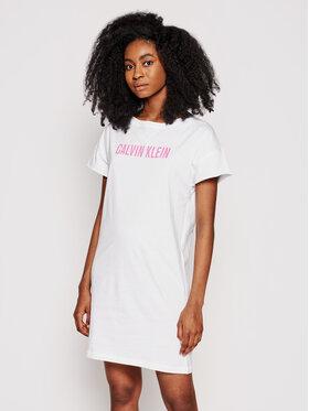 Calvin Klein Swimwear Calvin Klein Swimwear Haljina za svaki dan KW0KW01357 Bijela Relaxed Fit