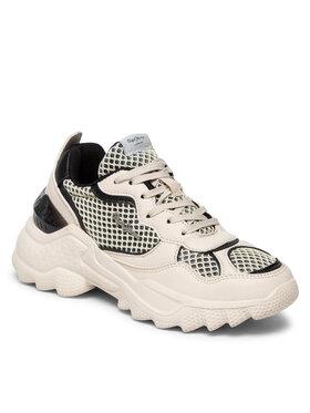 Pepe Jeans Pepe Jeans Sneakersy Eccles Sand PLS31228 Béžová