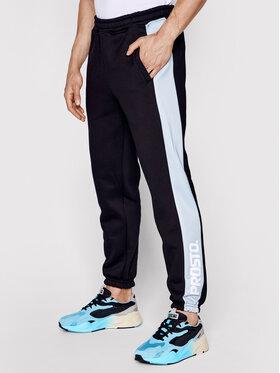 PROSTO. PROSTO. Teplákové kalhoty KLASYK Sido 1021 Černá Regular Fit