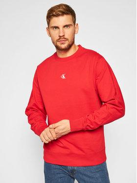 Calvin Klein Jeans Calvin Klein Jeans Bluza J30J315708 Czerwony Regular Fit