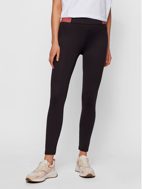 Boss Boss Leggings C_Erina_Active 50456719 Nero Skinny Fit