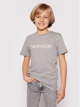 Calvin Klein Swimwear Calvin Klein Swimwear Тишърт Tee B70B700234 Сив Regular Fit