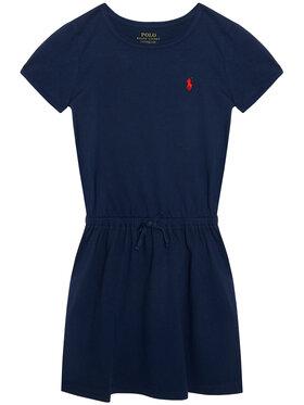 Polo Ralph Lauren Polo Ralph Lauren Ежедневна рокля Tie Frnt Drs 313833945008 Тъмносин Regular Fit