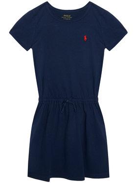 Polo Ralph Lauren Polo Ralph Lauren Sukienka codzienna Tie Frnt Drs 313833945008 Granatowy Regular Fit