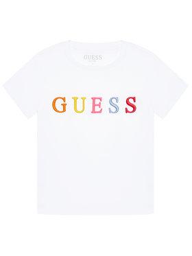 Guess Guess T-Shirt H1RJ04 K8HM0 Weiß Regular Fit