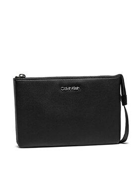 Calvin Klein Calvin Klein Torebka Ew Double Compartment Xbody K60K608187 Czarny