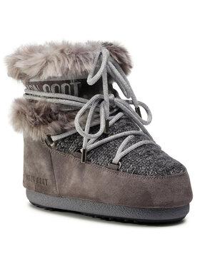 Moon Boot Moon Boot Śniegowce Mars Wool Fur 14401100002 Szary