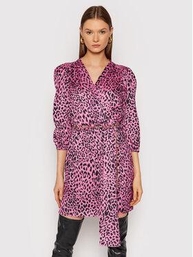 Rinascimento Rinascimento Sukienka koktajlowa CFC0104669003 Różowy Slim Fit