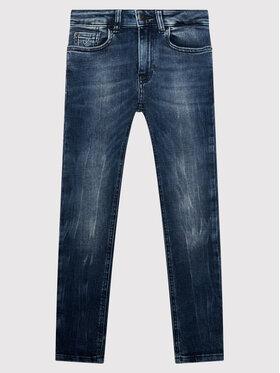 Calvin Klein Jeans Calvin Klein Jeans Дънки Washed Dark IB0IB00925 Син Skinny Fit