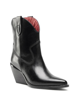 Bronx Bronx Členková obuv 34155-A Čierna