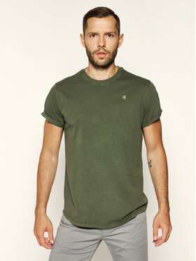 G-Star Raw G-Star Raw T-Shirt Lash R T D16396-2653-B111 Zielony Relaxed Fit