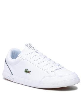 Lacoste Lacoste Sneakersy Graduate 0121 1 Sma 7-42SMA0051147 Biela