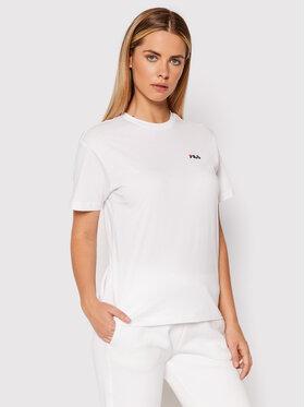 Fila Fila T-Shirt Efrat 689117 Biały Regular Fit