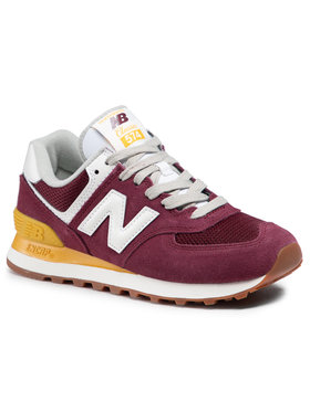 New Balance New Balance Sneakersy WL574VN2 Bordowy