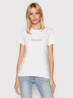 Armani Exchange Armani Exchange T-shirt 3KYTKR YJ16Z 1000 Blanc Slim Fit