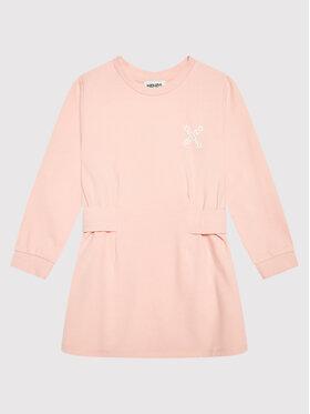 Kenzo Kids Kenzo Kids Ежедневна рокля K12075 Розов Regular Fit