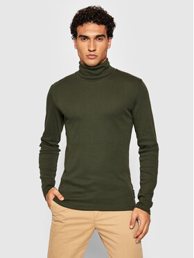 Marc O'Polo Marc O'Polo Bluză cu gât 129 2202 52354 Verde Slim Fit