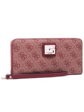 Guess Guess Veľká dámska peňaženka Valy (SLG) SWSG78 73460 Bordová