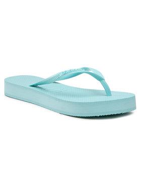 Havaianas Havaianas Tongs Slim Flatform Fc 41445371669 Bleu