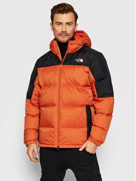 The North Face The North Face Pernata jakna Diablo NF0A4M9LT971 Narančasta Regular Fit
