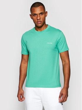 Calvin Klein Calvin Klein Тишърт Chest Logo K10K103307 Зелен Regular Fit