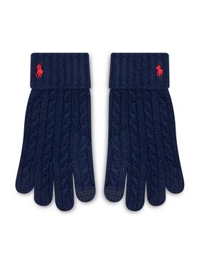 Polo Ralph Lauren Polo Ralph Lauren Γάντια Ανδρικά Echo F21 449853977002 Σκούρο μπλε