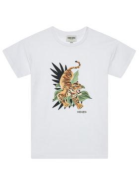 Kenzo Kids Kenzo Kids T-Shirt K25106 S Weiß Regular Fit