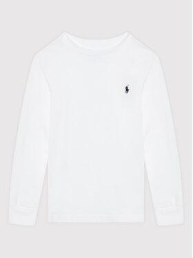Polo Ralph Lauren Polo Ralph Lauren Μπλουζάκι Ls Cn 323843804004 Λευκό Regular Fit