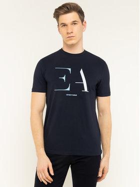 Emporio Armani Emporio Armani T-Shirt 3H1TA5 1J0AZ 0922 Granatowy Regular Fit