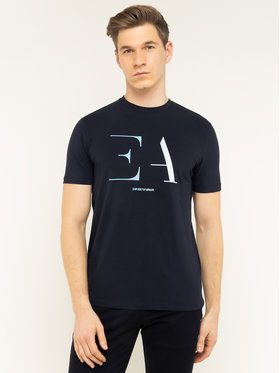 Emporio Armani Emporio Armani T-Shirt 3H1TA5 1J0AZ 0922 Tmavomodrá Regular Fit