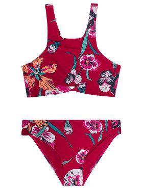 Roxy Roxy Strój kąpielowy Little Wanderer ERGX203274 Czerwony