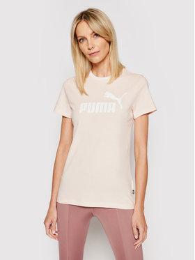 Puma Puma T-shirt Amplified Graphic 585902 Rosa Regular Fit