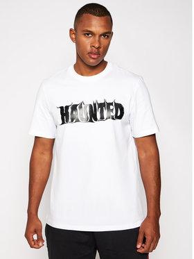 MSGM MSGM T-shirt 2940MM167 207598 Blanc Regular Fit