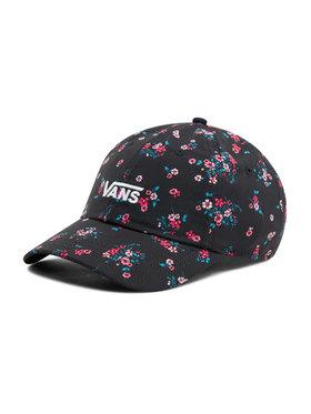 Vans Vans Kepurė su snapeliu Court Side Printed Hat VN0A34GRZX31 Juoda