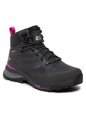 Jack Wolfskin Jack Wolfskin Трекінгові черевики Force Striker Texapore Mid W 4038871 Чорний