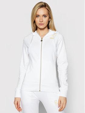 EA7 Emporio Armani EA7 Emporio Armani Sweatshirt 3KTM18 TJ31Z 1100 Blanc Regular Fit