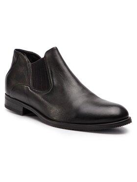 Gino Rossi Gino Rossi Kotníková obuv s elastickým prvkem Chuck MSV616-K36-DZ00-3700-0 Hnědá