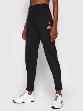 Patrizia Pepe Patrizia Pepe Spodnie materiałowe 8P0363/A9H6-K103 Czarny Regular Fit