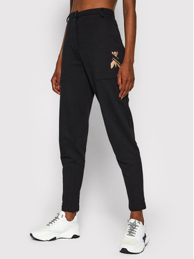 Patrizia Pepe Patrizia Pepe Текстилни панталони 8P0363/A9H6-K103 Черен Regular Fit