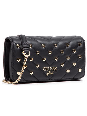 Guess Guess Handtasche Kathleen HGKAT2 PU211 Schwarz