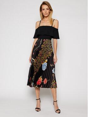 Victoria Victoria Beckham Victoria Victoria Beckham Koktel haljina Poly Twill 2121WDR002379A Crna Regular Fit