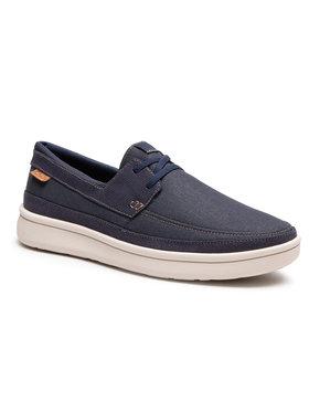 Clarks Clarks Pantofi Cantal Lace 261598117 Albastru