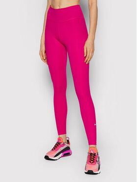 Nike Nike Leginsai Dri-FIT One DD0252 Rožinė Tight Fit