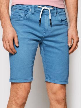 Pepe Jeans Pepe Jeans Medžiaginiai šortai Jagger PM800720 Mėlyna Regular Fit