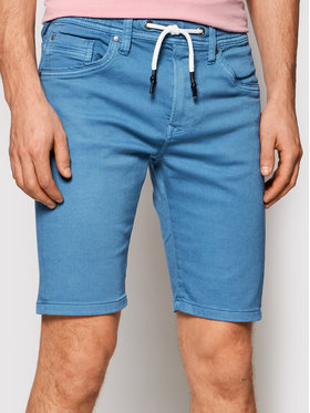Pepe Jeans Pepe Jeans Stoffshorts Jagger PM800720 Blau Regular Fit