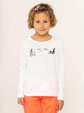 Billieblush Billieblush Блуза U15P01 Бял Regular Fit